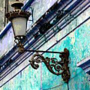 Old Street Lamp By Darian Day Art Print