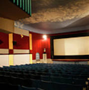 Old Theater Interior 1 Art Print by Marilyn Hunt