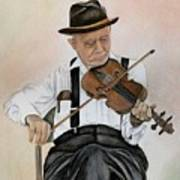 Old Time Fiddler Art Print