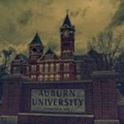 Old Time Samford Hall Art Print