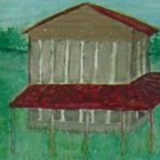 Old Tobacco Barn Art Print