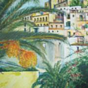 Old Town Ibiza Art Print