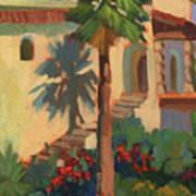Old Town La Quinta Palm Art Print