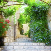 Old Town Of Provence Street Art Print