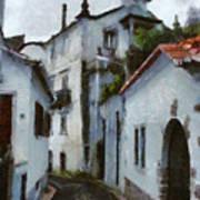 Old Town Street Art Print