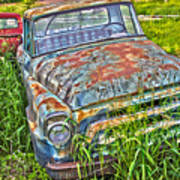 001 - Old Trucks Art Print