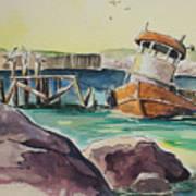 Old Tug Art Print