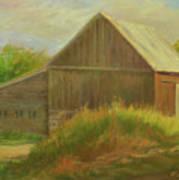 Old Vermont Barn Art Print