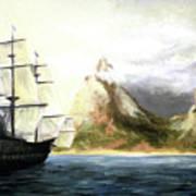 Old Vessel Art Print