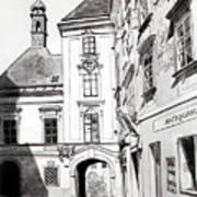 Old Viennese Courtyard Art Print