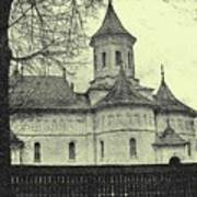Old Village Church Art Print