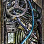 Old Washing Machine Works Art Print