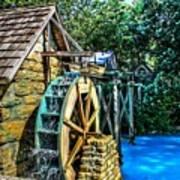 Old Watermill Art Print