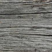 Old Weathered Wood Board Art Print