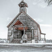 Old West Church Art Print