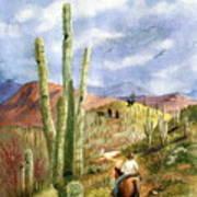 Old Western Skies Art Print