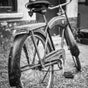 Old Wheels Art Print
