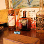Old Whiskey Art Print