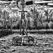 Old Windmill 2 Art Print