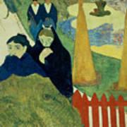 Old Women Of Arles Art Print