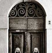 Old World Door Art Print