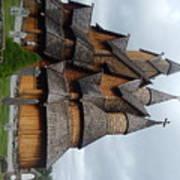 Oldest Church In Norway Art Print