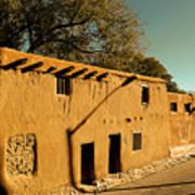 Oldest House In Santa Fe Art Print