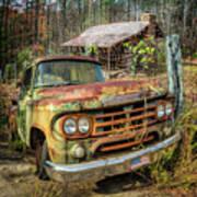 Oldie But Goodie 1959 Dodge Pickup Truck Art Print