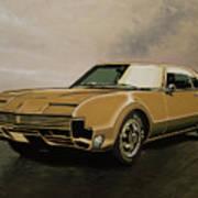 Oldsmobile Toronado 1965 Painting Art Print