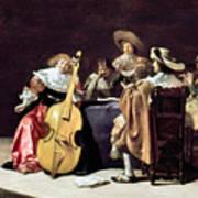 Olis: A Musical Party Art Print