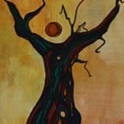 Olive Tree Woman Art Print