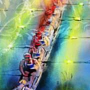 Olympics Rowing 02 Art Print