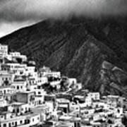 Olympos. Karpathos Island Greece Art Print