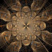 Om Particles Art Print