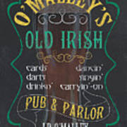O'malley's Old Irish Pub Art Print