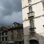 Ominous Sky In Croatia Art Print