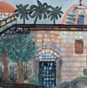 On A Street In Hebron Art Print