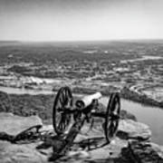 On Guard At Point Park Lookout Mountain In Tennessee Art Print