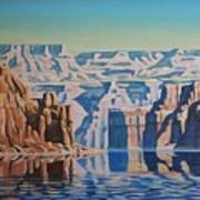 On Lake Powell Art Print