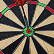 On Target Bullseye Art Print