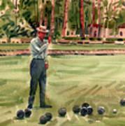 On The Bowling Green Art Print