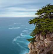On The Cliff - Horizontal Art Print