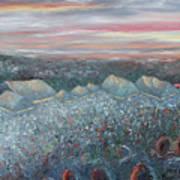 On The Hill At Greyfox Art Print