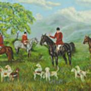 On The Hunt Art Print