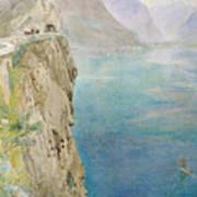 On The Italian Coast Print by Harry Goodwin