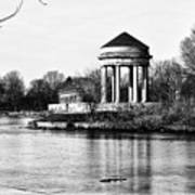 On The Lake At Fdr Park Art Print