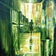 On The Light Art Print