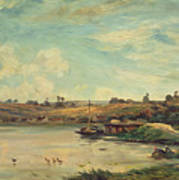 On The Loire Art Print