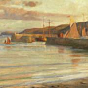 On The North Devon Coast Art Print