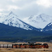 On The Rocky Mountain Front Art Print
